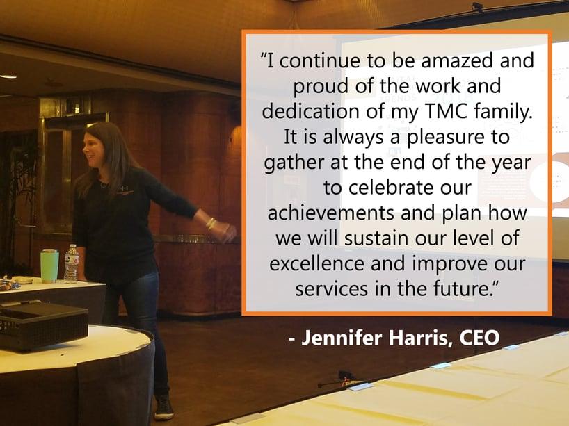 Microsoft Dynamics Jennifer-Harris-CEO-presenting