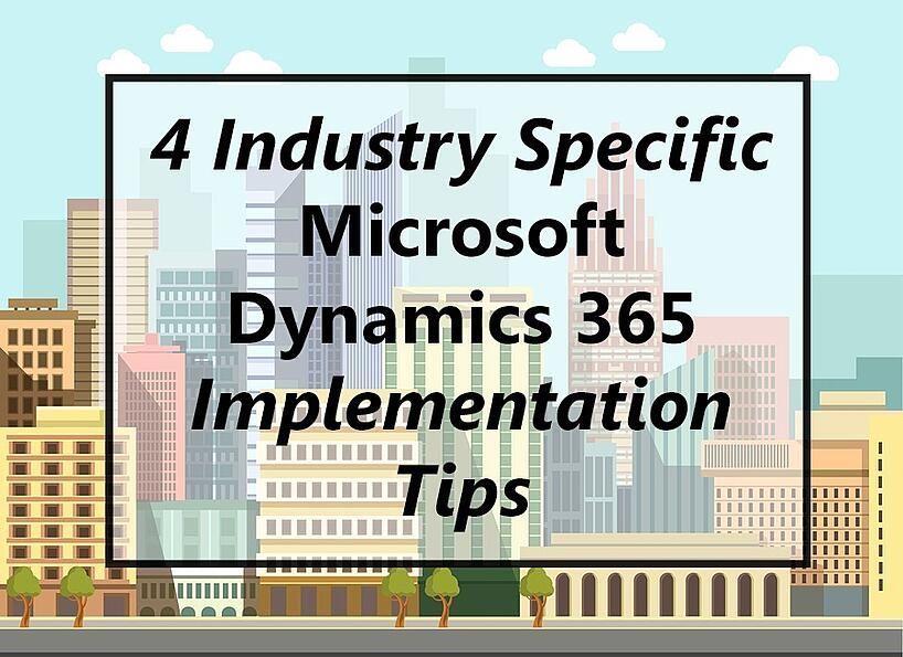 Microsoft Dynamics 365 office buildings