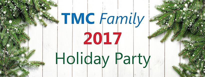 tmc family 2017 holiday party title