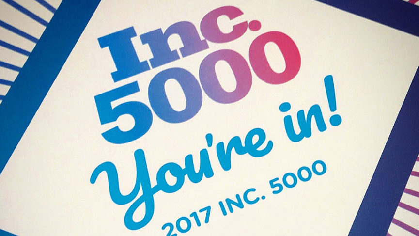 Technology Management Concepts Named to the Inc. 5000 for 2nd Straight Year