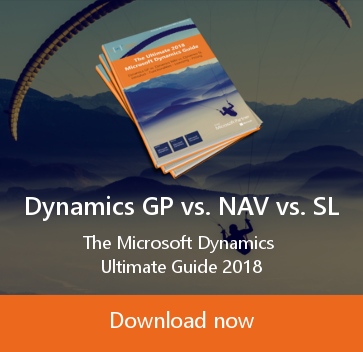 Dynamics GP vs NAV vs SL