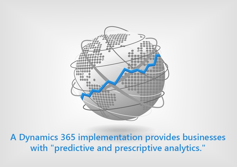 A Dynamics 365 implementation provides businesses with