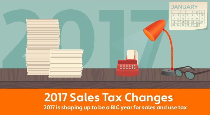 [Update] 2017 Mid-Year Sales Tax Changes