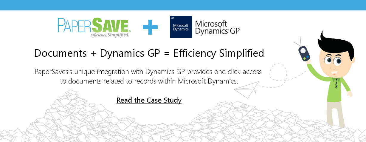 Dynamics GP & PaperSave integration | Reducing Approval Time by 70%