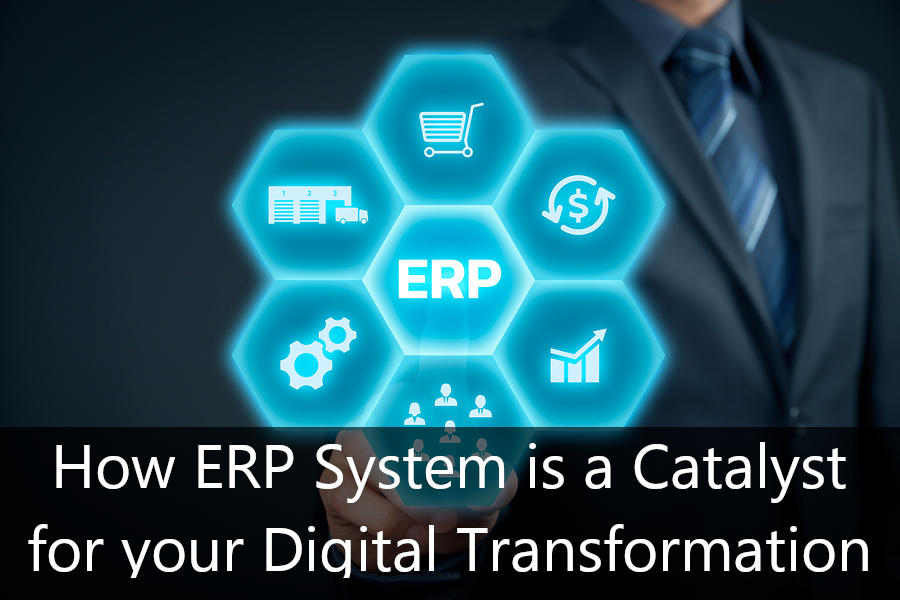 How ERP System is a Catalyst for your Digital Transformation