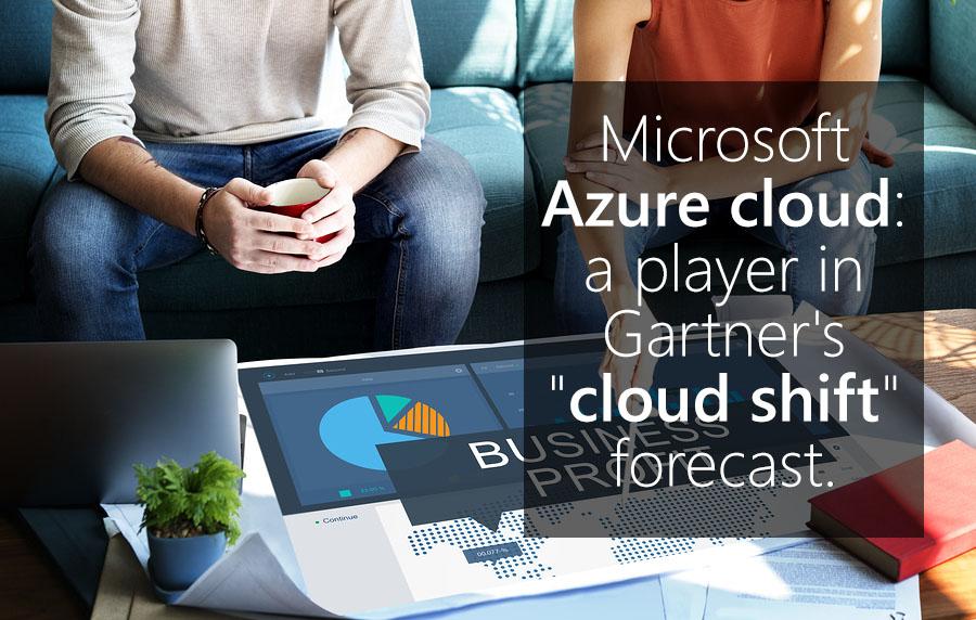 Microsoft Azure Cloud - A Player in Gartner's
