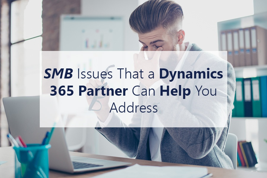 SMB Issues That a Dynamics 365 Partner Can Help You Address