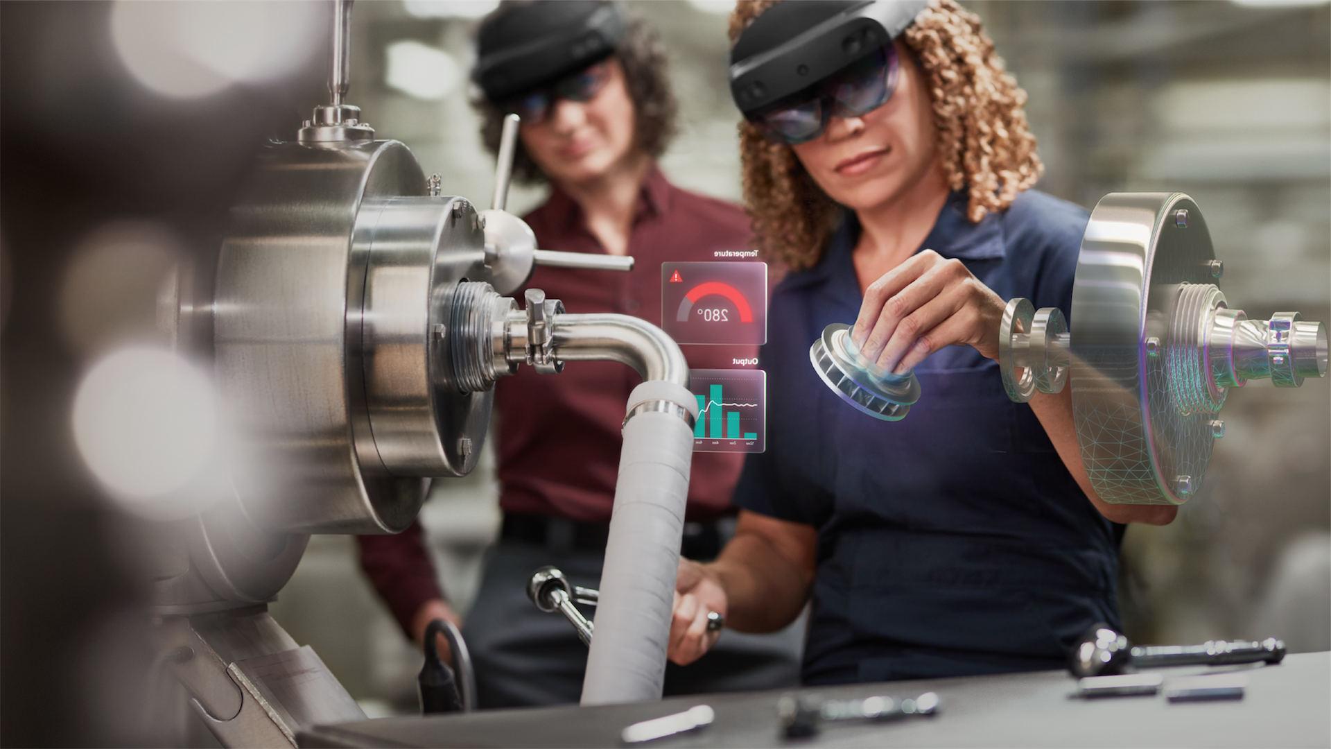 At Hannover Messe 2019, discover how Microsoft is manufacturing a better future.
