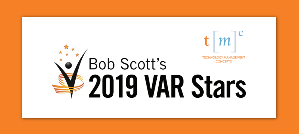 ERP Global Recognition for TMC | Bob Scott's 2019 VAR Stars