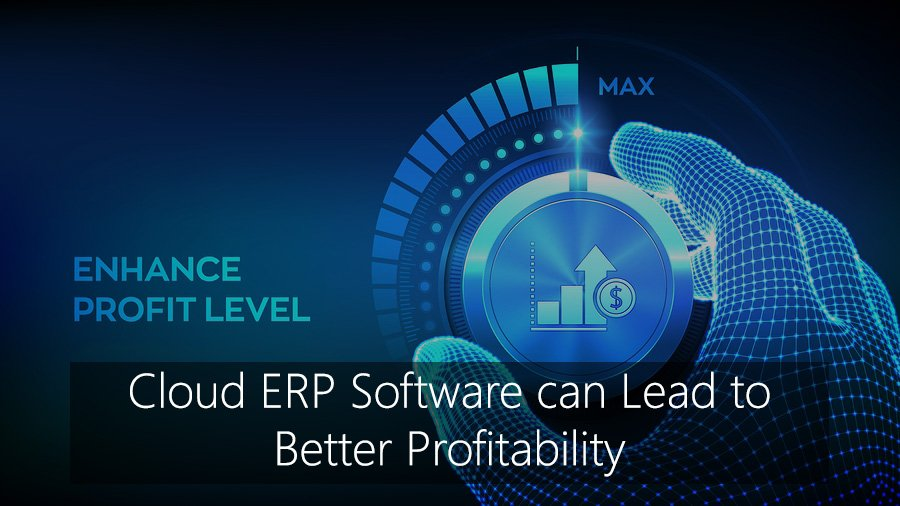 Cloud ERP Software can Lead to Better Profitability