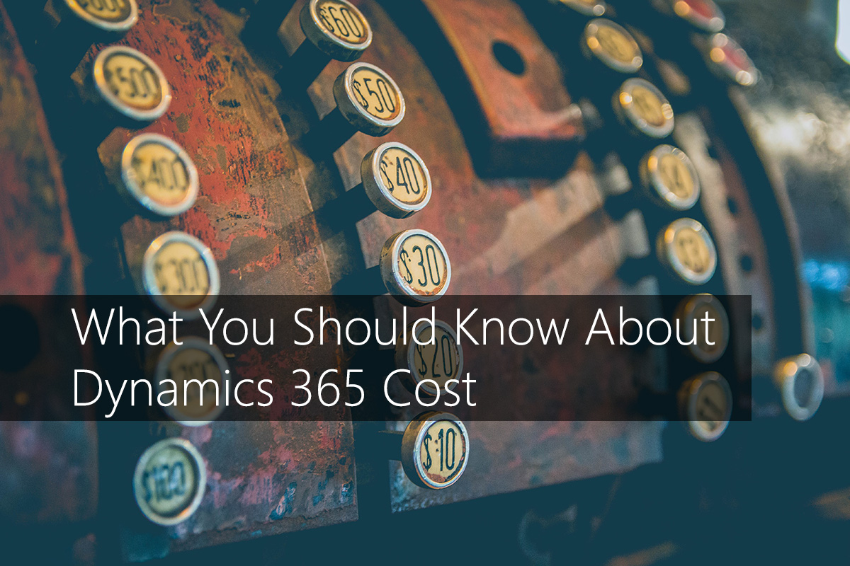 What You Should Know About Dynamics 365 Cost