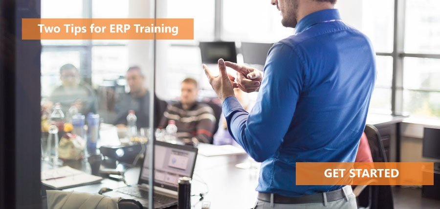 Two Tips for ERP Training Success